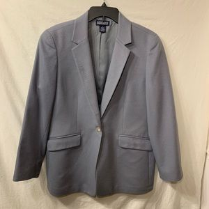 Lands End wool blazer with cashmere lining